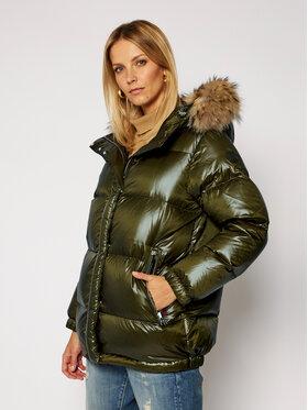 Woolrich Woolrich Pernate jakne Aliquippa CFWWOU0285FRUT1702 Zelena Regular Fit