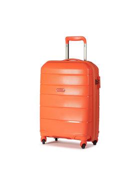 Puccini Puccini Kis kemény borítású bőrönd Bahamas PP016C Narancssárga