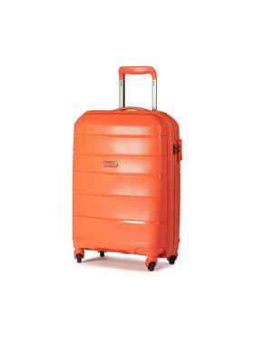 Puccini Puccini Malý tvrdý kufr Bahamas PP016C Oranžová