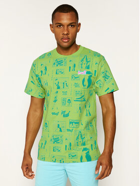 HUF HUF T-shirt Tijuana Memories TS00995 Vert Regular Fit