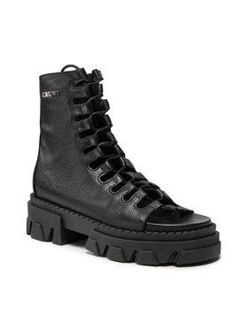 Carinii Carinii Členková obuv B7237 Čierna