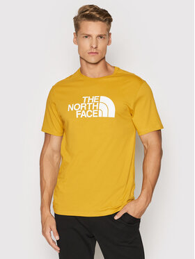 The North Face The North Face T-Shirt Easy Teee NF0A2TX3H9D Żółty Regular Fit