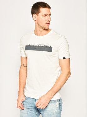 Marc O'Polo Marc O'Polo T-Shirt 022 2342 51306 Biały Shaped Fit