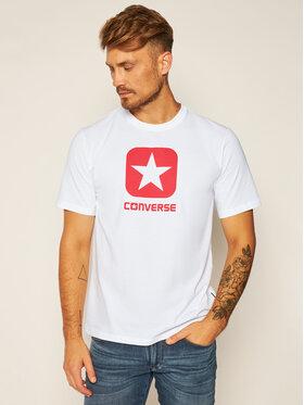 Converse Converse Póló Box Star Tee 10019936-A01 Fehér Regular Fit