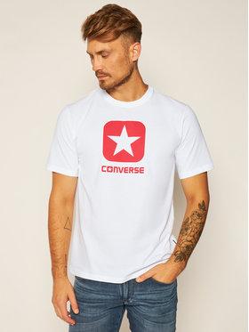 Converse Converse T-Shirt Box Star Tee 10019936-A01 Bílá Regular Fit