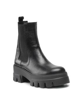 Carinii Carinii Členková obuv B7709 Čierna