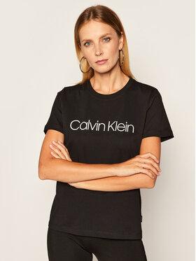 Calvin Klein Calvin Klein T-shirt Core Logo K20K202142 Noir Regular Fit