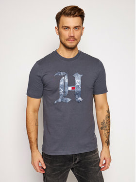 Tommy Hilfiger Tommy Hilfiger T-shirt LEWIS HAMILTON Marble MW0MW15296 Gris Relaxed Fit