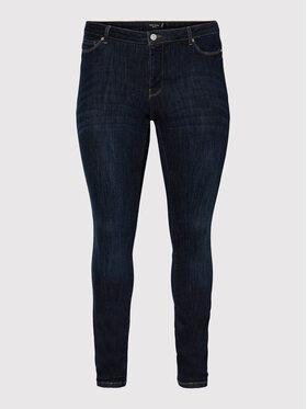 Vero Moda Curve Vero Moda Curve Jean Alexamanya 10252204 Bleu marine Slim Fit