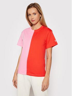 Roxy Roxy T-Shirt ROWLEY ERJKT03825 Kolorowy Regular Fit
