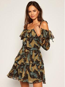 Guess Guess Sukienka codzienna Veda W0BK91 WDDD0 Kolorowy Regular Fit