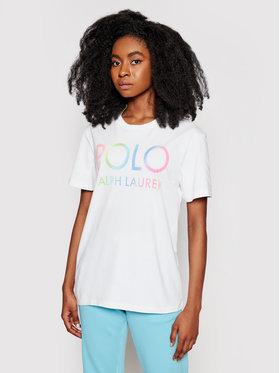 Polo Ralph Lauren Polo Ralph Lauren T-shirt 211838144001 Bijela Regular Fit