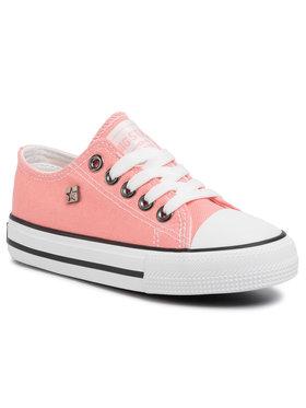 BIG STAR BIG STAR Sneakers aus Stoff FF374204 601 Rosa