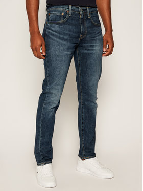 Levi's® Levi's Jeansy Taper Fit 502™ Wagyu Moss 29507-0775 Tamsiai mėlyna Taper Fit