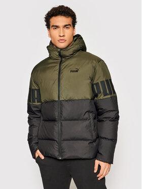 Puma Puma Pernata jakna Essentials+ Cb 587692 Zelena Regular Fit