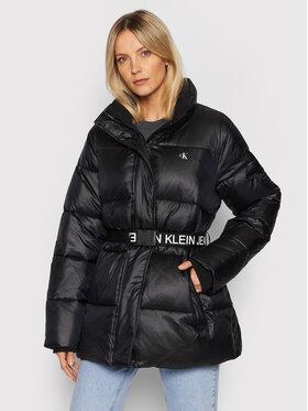 Calvin Klein Jeans Plus Calvin Klein Jeans Plus Пуховик J20J217525 Чорний Regular Fit