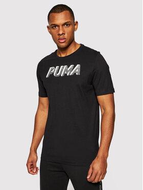 Puma Puma T-Shirt Modern Sports Logo 585818 Černá Regular Fit