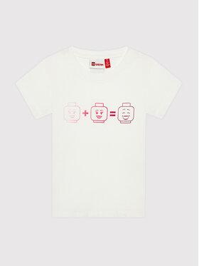 LEGO Wear LEGO Wear T-Shirt Lwteach 301 11010109 Bílá Regular Fit