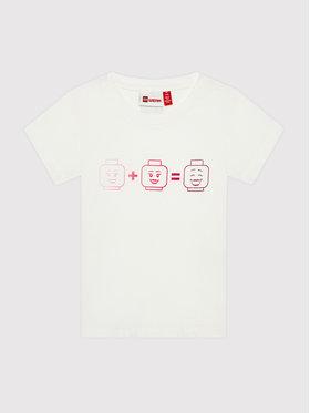 LEGO Wear LEGO Wear T-Shirt Lwteach 301 11010109 Λευκό Regular Fit