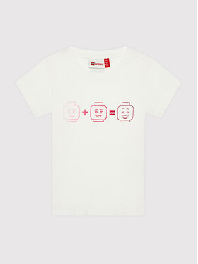 LEGO Wear LEGO Wear T-Shirt Lwteach 301 11010109 Weiß Regular Fit