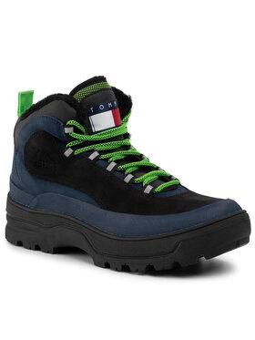 Tommy Jeans Tommy Jeans Outdoorová obuv Hilfiger Expedition Boot EM0EM00378 Čierna