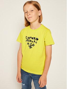 Emporio Armani Emporio Armani Komplet 3 t-shirtów 3H4D16 4J09Z 0255 Kolorowy Regular Fit