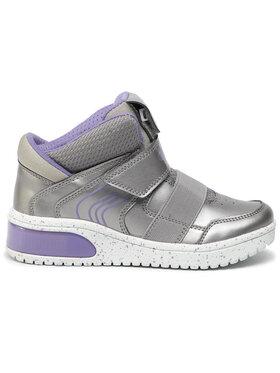 Geox Geox Sneakersy J Xled G. A J848DA 0NF6K C1335 S Stříbrná