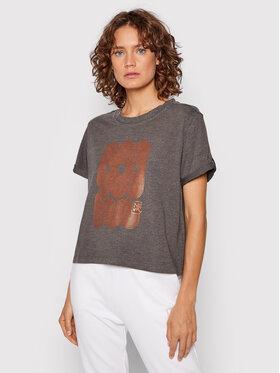 Asics Asics T-Shirt Nagare 2032C169 Szary Regular Fit