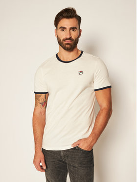 Fila Fila T-shirt Ward Ringer 687860 Bianco Regular Fit