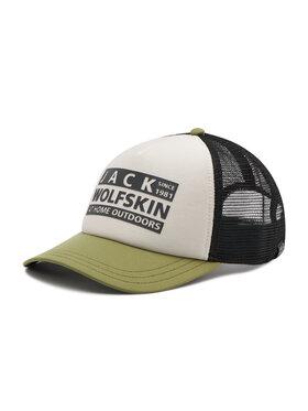 Jack Wolfskin Jack Wolfskin Šiltovka Brand Mesh Cap 1909391-5505 Béžová