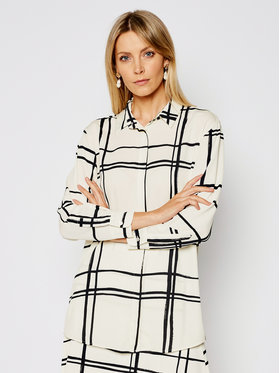 Marella Marella Marškiniai Neo 31910411 Smėlio Straight Fit