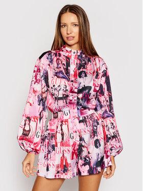 Guess Guess Ολόσωμη φόρμα W1GB26 RD0E1 Ροζ Regular Fit