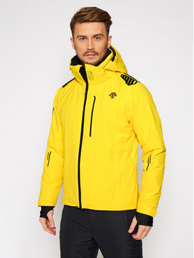 Descente Descente Kurtka narciarska Breck DWMQGK09 Żółty Tailored Fit