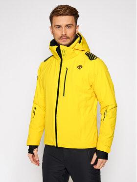 Descente Descente Μπουφάν για σκι Breck DWMQGK09 Κίτρινο Tailored Fit
