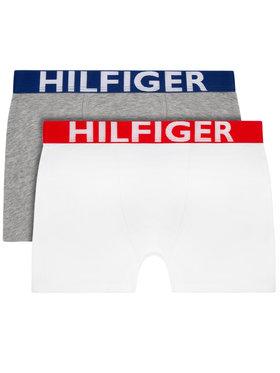 Tommy Hilfiger Tommy Hilfiger Комплект 2 чифта боксерки UB0UB90012 Бял