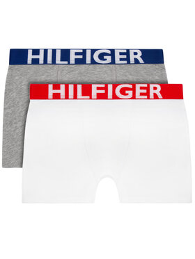 Tommy Hilfiger Tommy Hilfiger Sada 2 kusů boxerek UB0UB90012 Bílá
