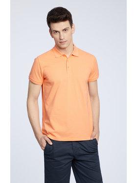 Vistula Vistula Тениска с яка и копчета Mike XA1284 Оранжев Regular Fit