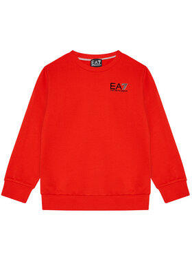 EA7 Emporio Armani EA7 Emporio Armani Sweatshirt 3KBM51 BJ05Z 1485 Rot Regular Fit