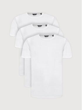 Only & Sons Only & Sons Súprava 3 tričiek Matt Life Longy 22013782 Biela Regular Fit