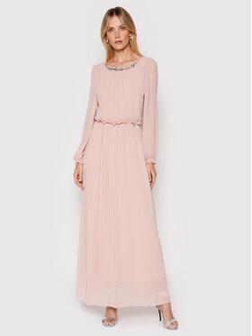 Rinascimento Rinascimento Sukienka wieczorowa CFC0104711003 Różowy Regular Fit