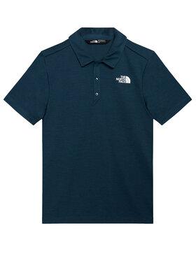The North Face The North Face Тениска с яка и копчета Horizon NF0A3CPO1LG1 Тъмносин Regular Fit