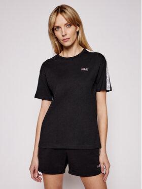 Fila Fila T-Shirt Jakena Taped 683395 Μαύρο Regular Fit