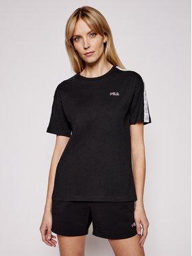 Fila Fila T-shirt Jakena Taped 683395 Noir Regular Fit