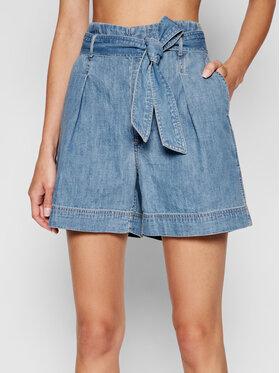 Lauren Ralph Lauren Lauren Ralph Lauren Szorty jeansowe 200831890001 Niebieski Regular Fit