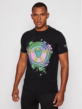 Iceberg Iceberg T-Shirt 20II1P0F0166309 Czarny Regular Fit