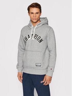 Champion Champion Sweatshirt Collegiate Logo 216569 Grau Comfort Fit