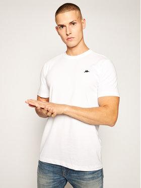 Kappa Kappa Marškinėliai Hauke 308010 Balta Regular Fit