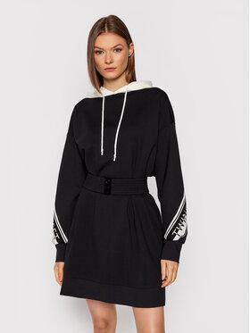 TWINSET TWINSET Плетена рокля 212TT2382 Черен Regular Fit