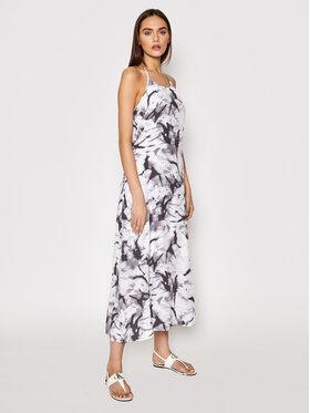Calvin Klein Jeans Calvin Klein Jeans Sukienka letnia J20J215690 Szary Regular Fit