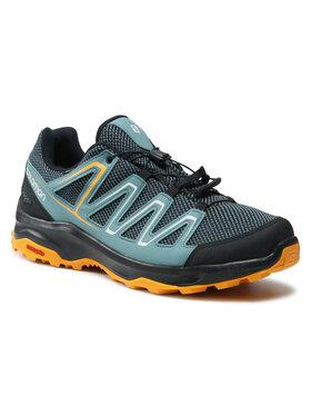 Salomon Salomon Παπούτσια πεζοπορίας Custer Gtx GORE-TEX 412316 38 W0 Μπλε